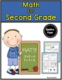 Math for Second Grade (Entire Year)