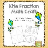 Distance Learning Math fractions craft