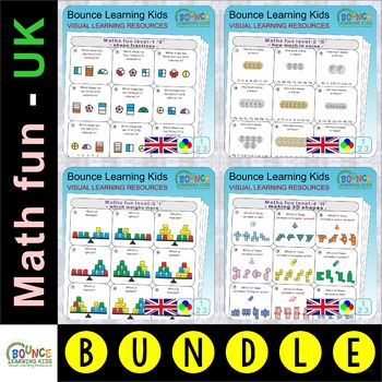 Math fun UK bundle (189 numberacy sheets)