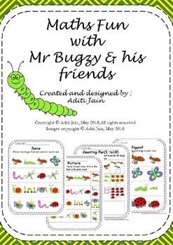 Math fun with Mr Bugzy