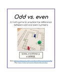 Math game Odd vs. even