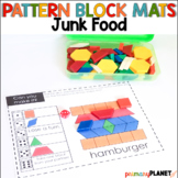 Pattern Block Mats | Math Games Junk Food