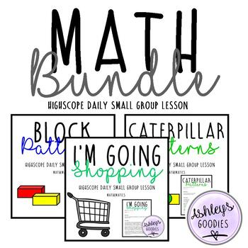 Math highscope BUNDLE!
