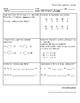 Math homework Spanish for 2nd grade First Semester.