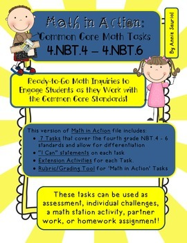 Math in Action: Common Core Math Tasks 4.NBT.4– 4.NBT.6