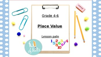 Math in Action!  Place Value lesson
