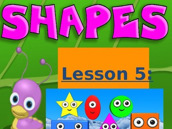 Math in English for grade 1 -- Shapes