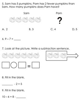 Math in Focus 1st Grade Study Guide (Chapter 4)