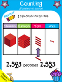 Math in Focus, 3rd Grade (Ch. 1, Lesson 1) - Posters and C