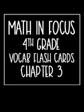 Math in Focus 4th Grade Flash Cards Chapter 3
