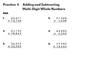 Math in Focus 4th Grade Workbook 1.3 Google Drive