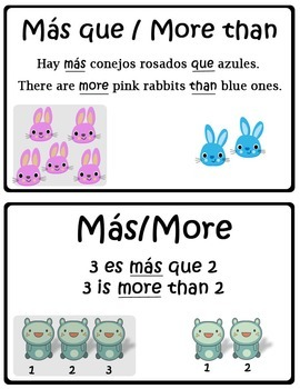 Math in Focus Bilingual Vocabulary Cards Chapter 1