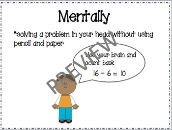 Math in Focus Chapter 14 Vocabulary Cards