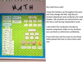 Math in Focus Chapter 17 Vocabulary Cards
