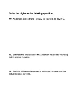 Math in Focus Chapter 2 Summative Assessment