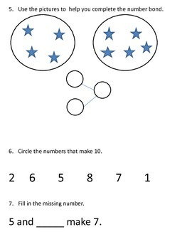 Math in Focus Chapter 2 study guide (First Grade)