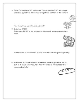 Math in Focus Chapter 3-5 Review