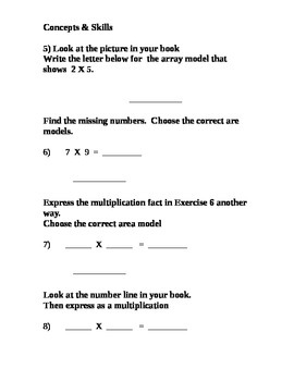 Math in Focus Chapter 6 Test