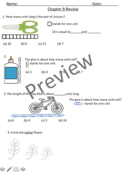 Math in Focus Chapters 1-9 Bundle Assessment Review
