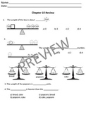 Math in Focus Chapters 10-19 Bundle Assessment Review