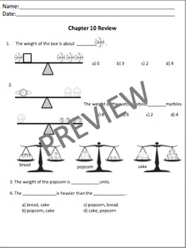 Math in Focus Chapters 10 Assessment Review