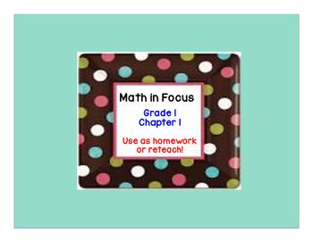 Math in Focus: Grade 1, Chapter 1