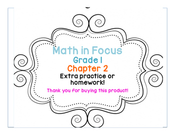 Math in Focus: Grade 1, Chapter 2