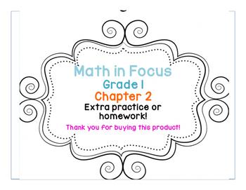 Math in Focus: Grade 1, Chapter 2