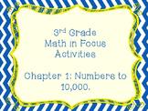 Math in Focus Grade 3 Chapter 1 Activities (Singapore Math)