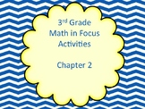 Math in Focus Grade 3 Chapter 2 Activities (Singapore Math)