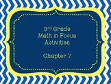 Math in Focus Grade 3 Chapter 7 Activities (Singapore Math)
