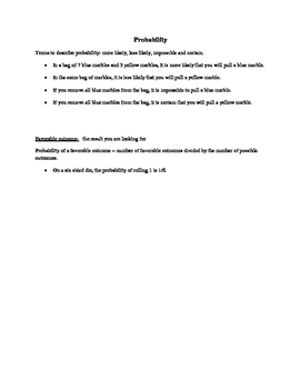 Math in Focus Grade 4A, Chapter 5 Vocabulary