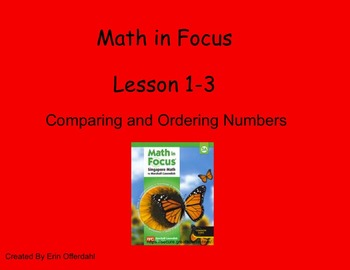 Math in Focus Lesson 1-3