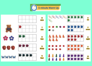 "Math in Focus ""Numbers to 10"" SMARTNotebook Lesson"