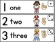 Math Vocabulary Cards for Kindergarten