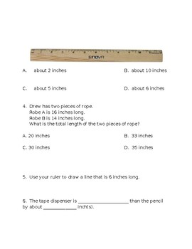 Math in Focus Second Grade Chapter 13 Test Review
