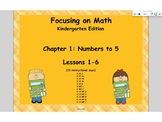 Mathematics in Focus Kindergarten SMART board lessons Ch 1