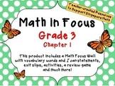 Math in Focus - Third Grade Chapter 1