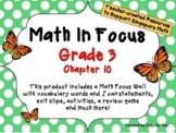 Math in Focus - Third Grade Chapter 10
