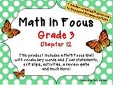 Math in Focus - Third Grade Chapter 12