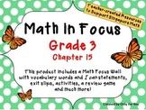 Math in Focus - Third Grade Chapter 15