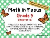 Math in Focus - Third Grade Chapter 16
