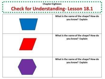 Math in Focus - Third Grade Chapter 18