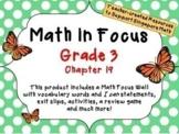 Math in Focus - Third Grade Chapter 19