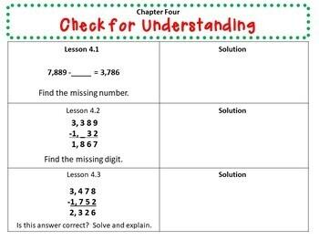 Math in Focus - Third Grade Chapter 4