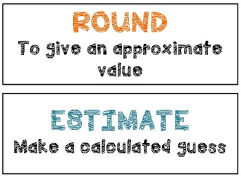 Math in Focus Vocabulary 4th Grade Chapter 3