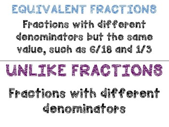 Math in Focus Vocabulary 4th Grade Chapter 6