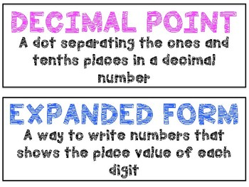 Math in Focus Vocabulary 4th Grade Chapters 7 + 8
