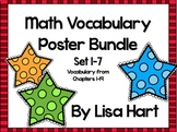 Math in Focus Vocabulary Bundle - Sets 1-7