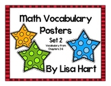 Math in Focus Vocabulary Set 2
